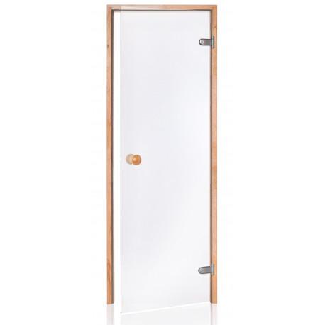 Dveře do sauny SCAN 7X20 čiré OLŠE