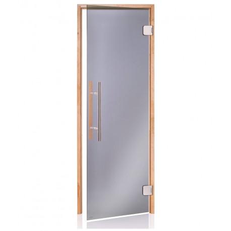 Dveře do sauny Scan Premium 7x20 čiré OLŠE
