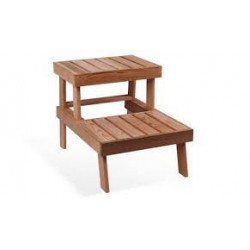 Podlahová lavička Cedr 535 x 755 x 560 mm