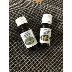 Set esenciou do sauny eukalyptus 10ml + citrón 10ml
