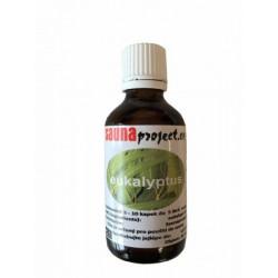 Esencia eucalyptus do sauny Saunaprojekt 50ml 100% prírodný