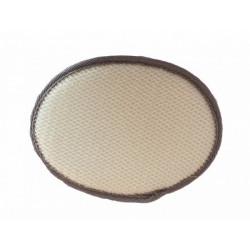 Ovál do sauny jemný sisal-froté masážna zinka