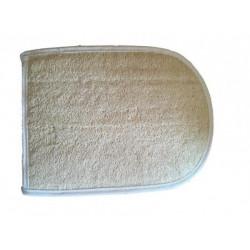 Ovál lufa froté masážna zinka do sauny