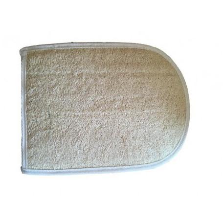 Ovál lufa froté masážní žínka do sauny