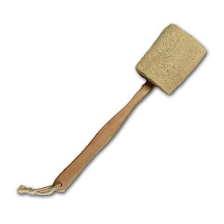 Lufa s drevenou rukoväťou