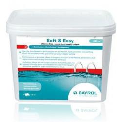 Bazénová chemie Soft and easy 4,48kg 20m3 bayrol