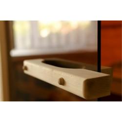 Luxusní saunové dveře do sauny kouřové
