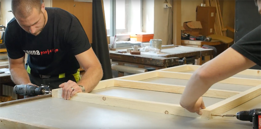 Jak postavit saunu aneb proces od začátku až do konce